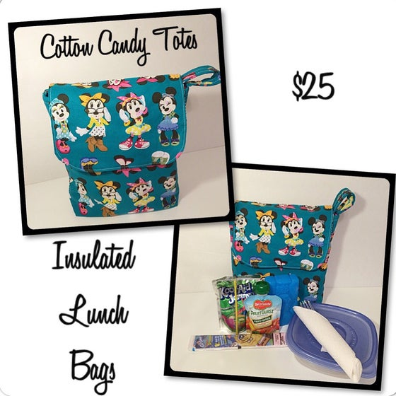 Image of Insulated Kids Lunch Bags Back To School