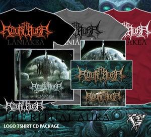 Image of THE RITUAL AURA - logo shirt package