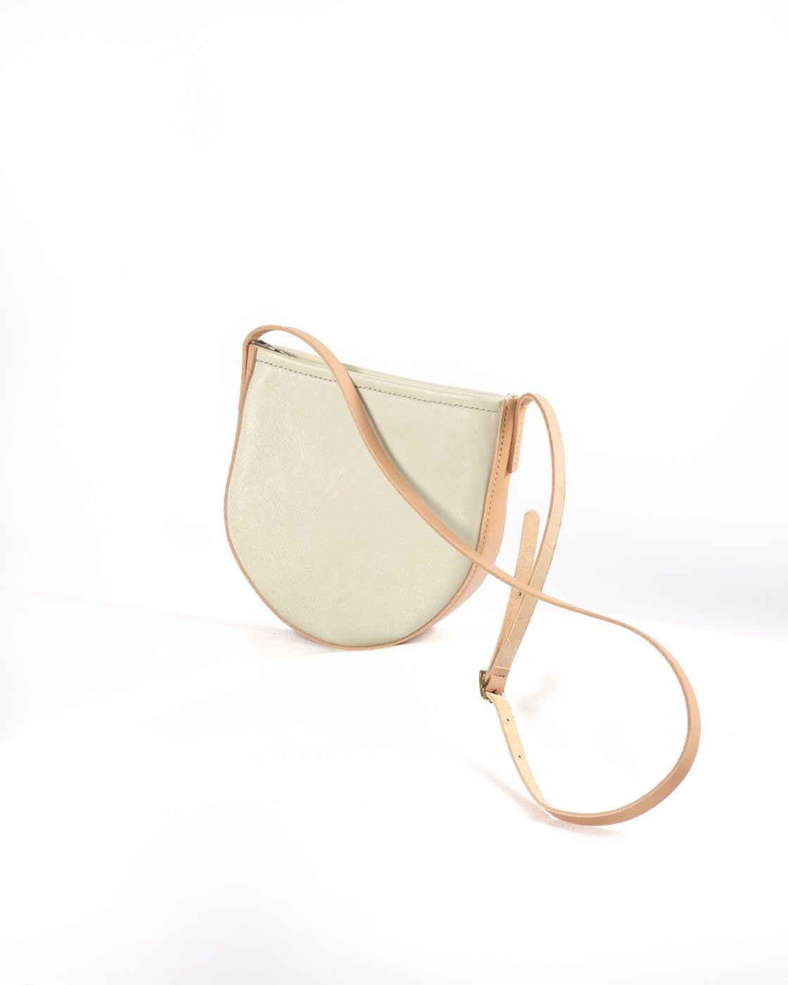 Image of Round Crossbody in Cream