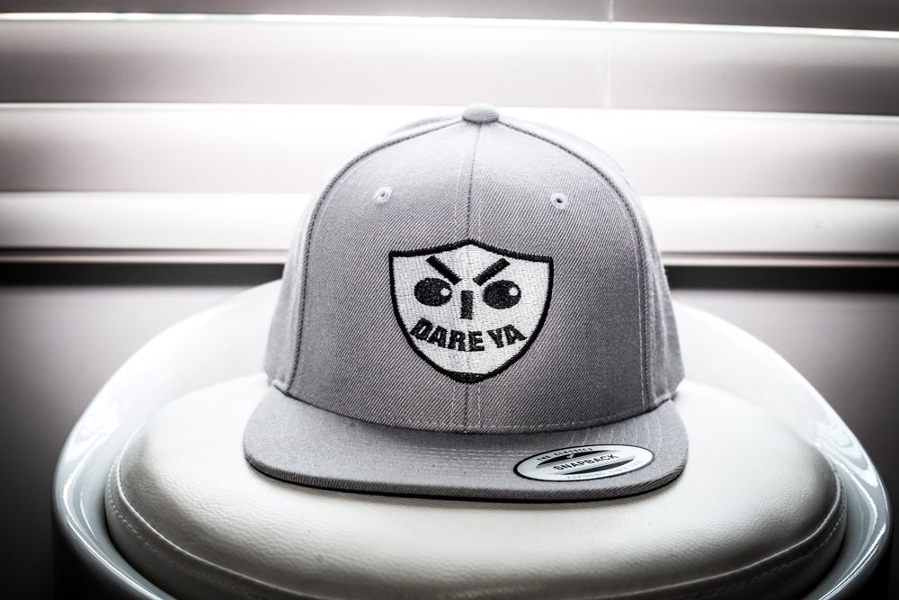 Image of I Dare Ya SnapBack (Grey)