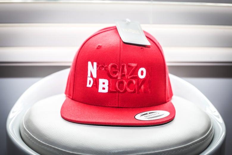 Image of Niggaz On Da Block SnapBack (RED)