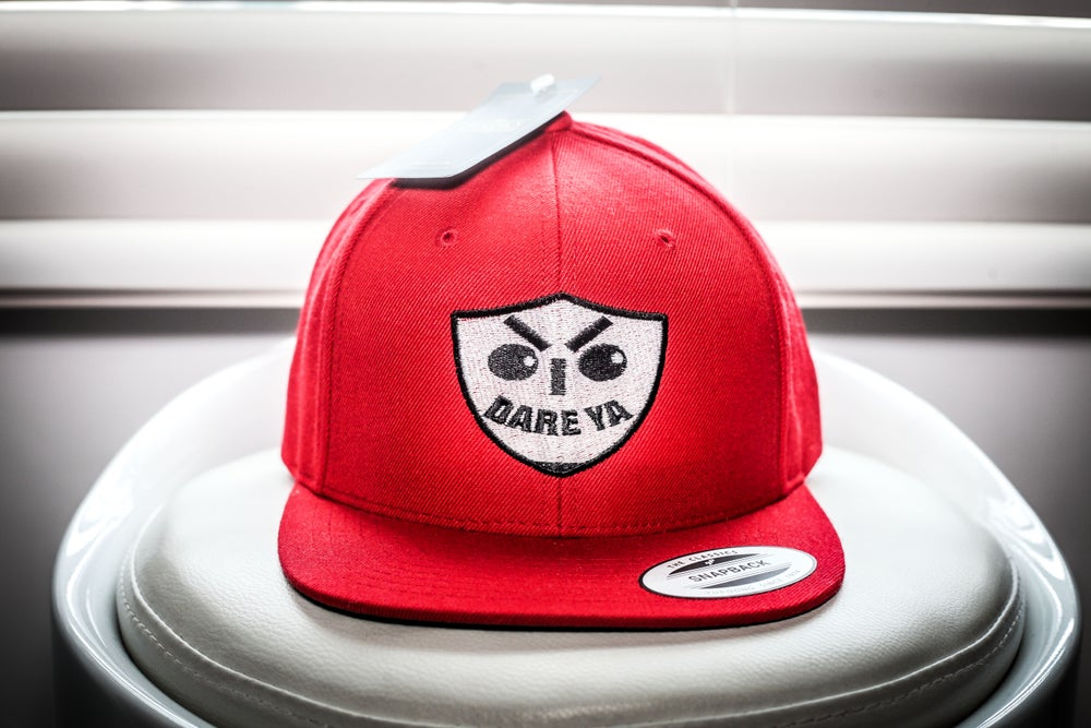 Image of I Dare Ya SnapBack (Red)