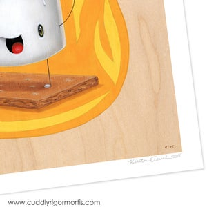 """Image of """"Molten Mallow"""" giclee print"""