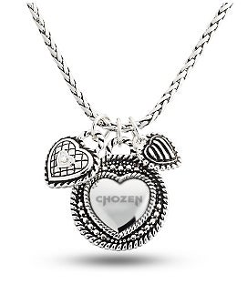 Image of CHOZEN HEART NECKLACE