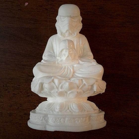 Image of Hydro74 | Morituri Te Salutant Buddha (White)