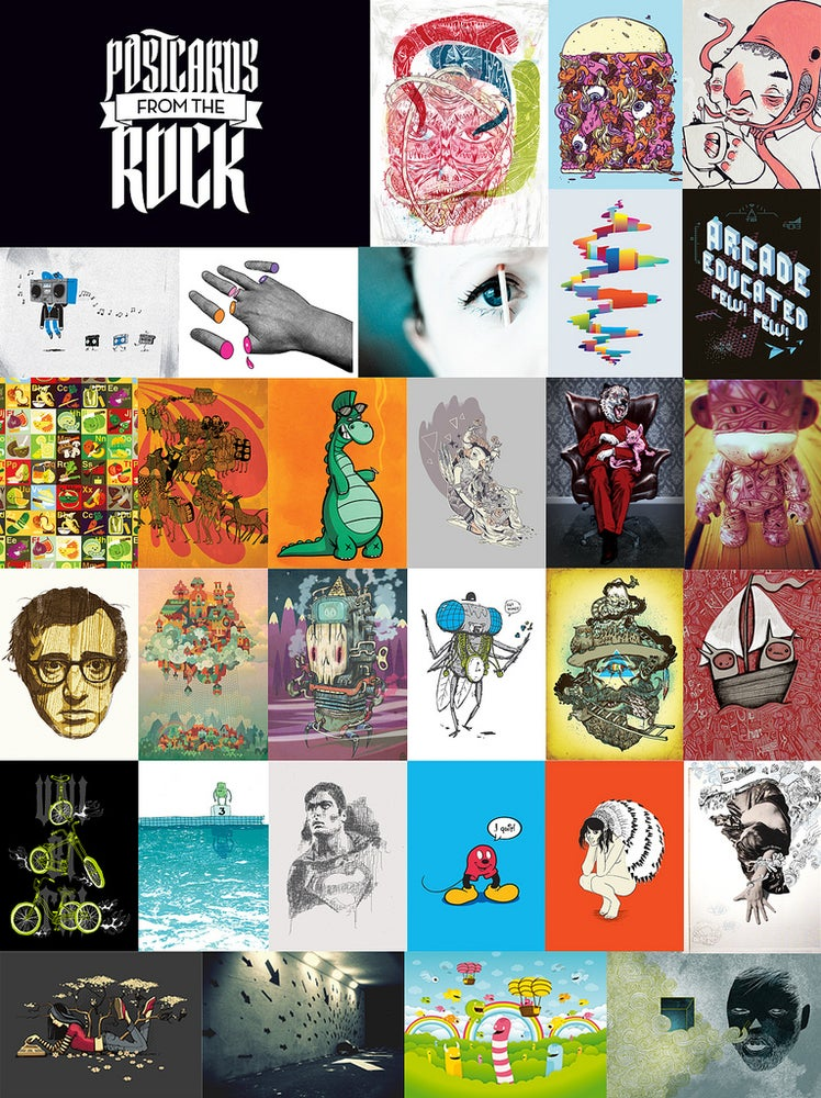 Image of Blackrock Collective Postcard book