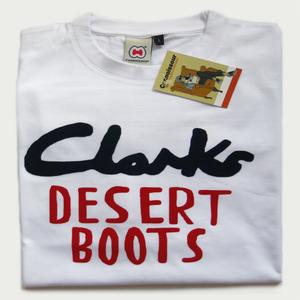 Image of CLARKS DESERT BOOTS TEE