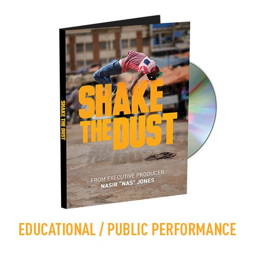 Image of Shake the Dust - Educational DVD with Public Performance Rights