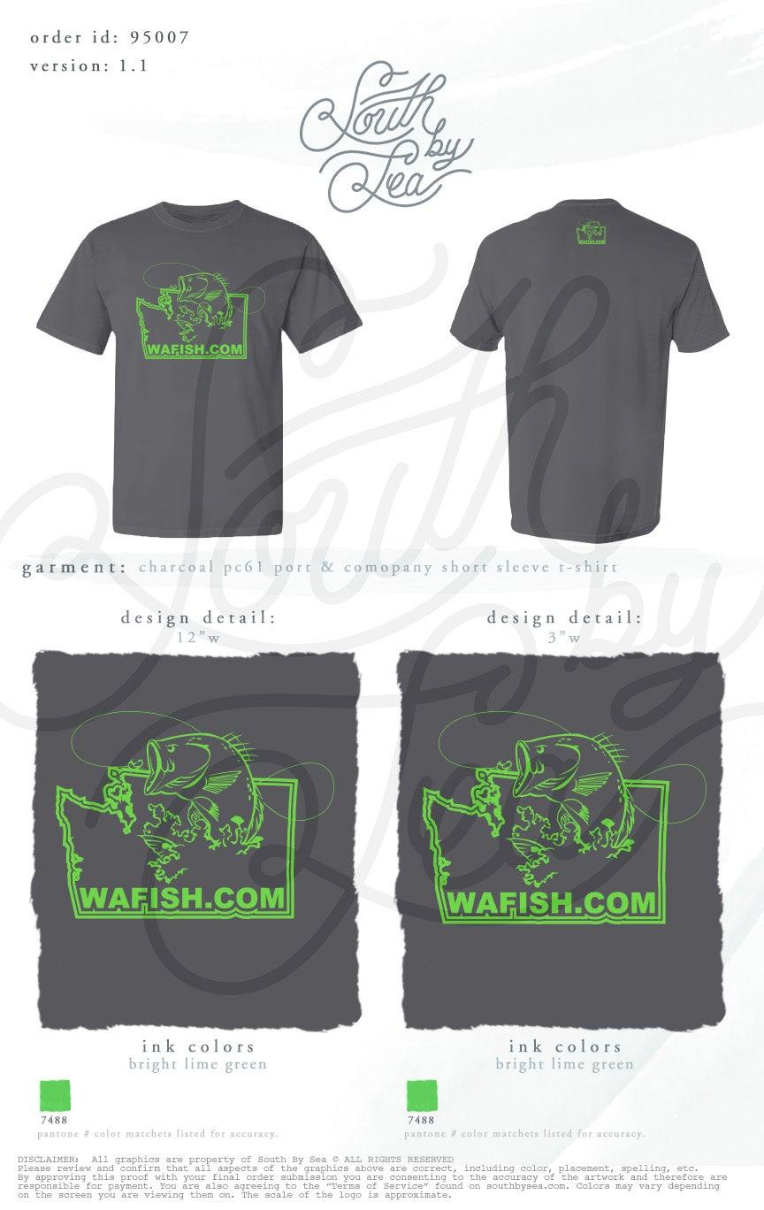 Image of Charcoal WAFISH T-Shirt