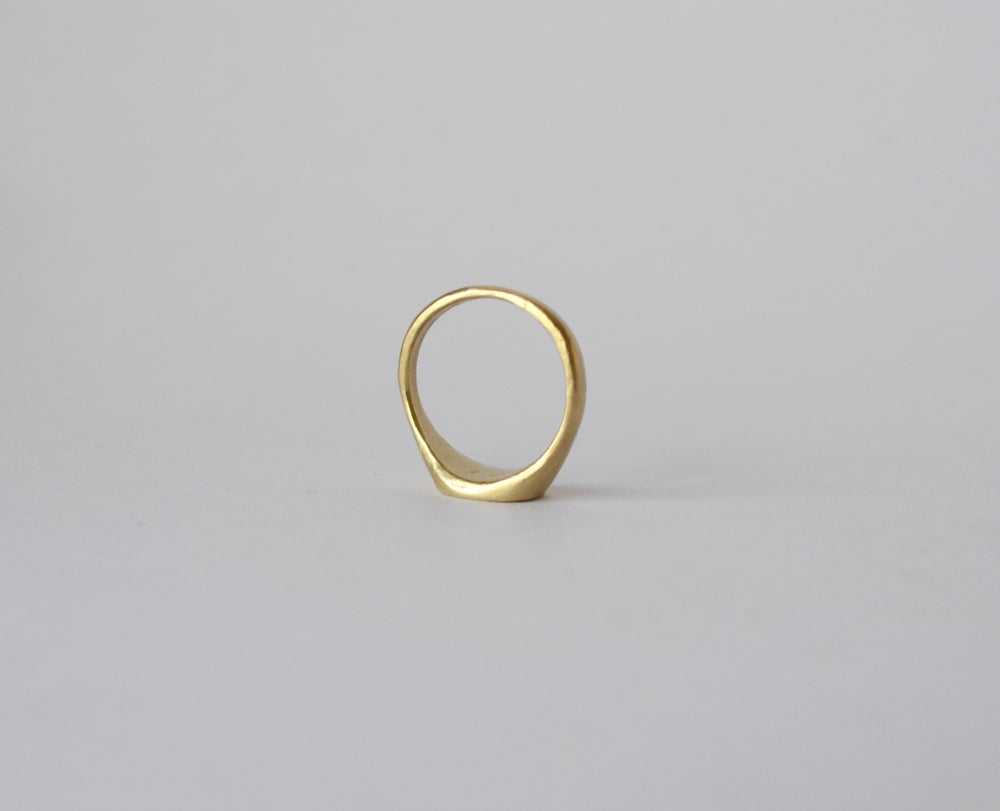 Image of Sad Face Ring