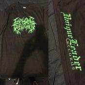 Image of Euphoric Defilement Monster green logo T-Shirt Limited Run!