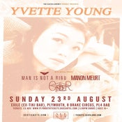 Image of YVETTE YOUNG + Support @ Exile, Plymouth | 23.08.15