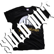 Image of RIOT SEASON Black Country T-Shirt 2013 (Mens Black)