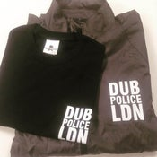 Image of Dub Police LDN : Light Weight Jacket T-Shirt Combo