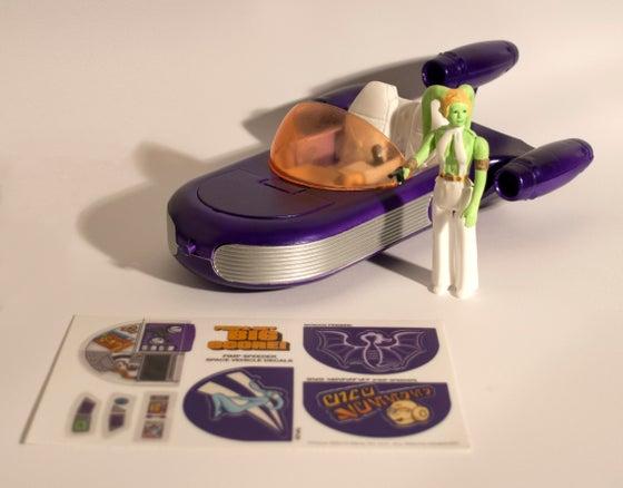 Image of Exclusive Manly Art/DKE Toys Pimp Speeder