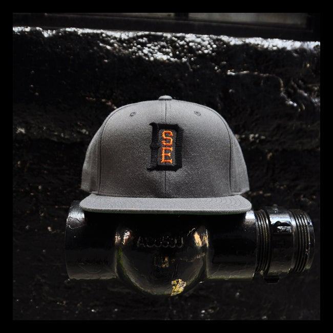 Image of Vintage DSE (Snapback/ Dark Grey w/ Black & Bronze)