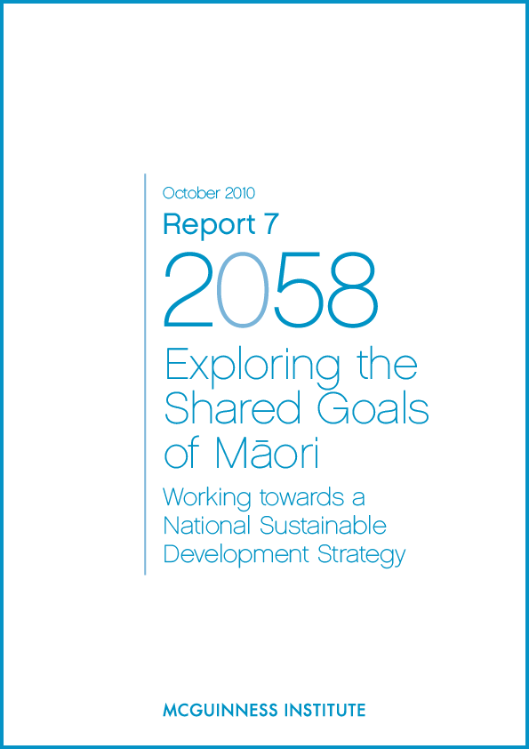 Image of Report 7 – Exploring the Shared Goals of Maori