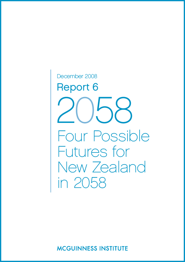 Image of Report 6 - Four Possible Futures for New Zealand in 2058