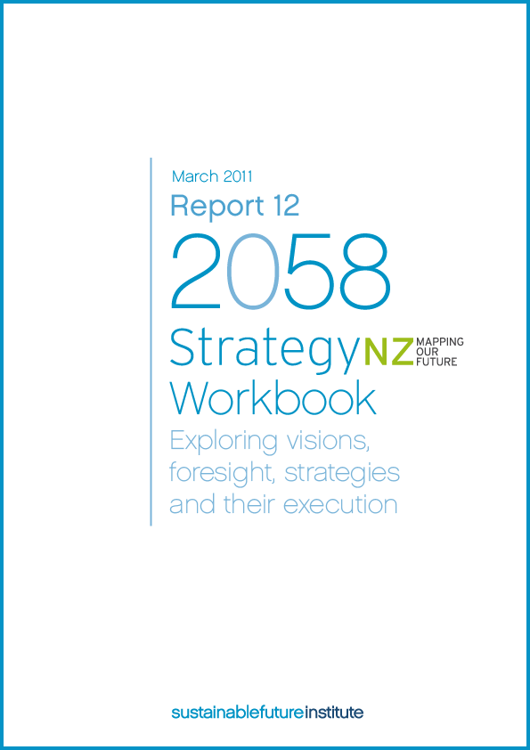 Image of Report 12 – StrategyNZ: Mapping our Future Workbook