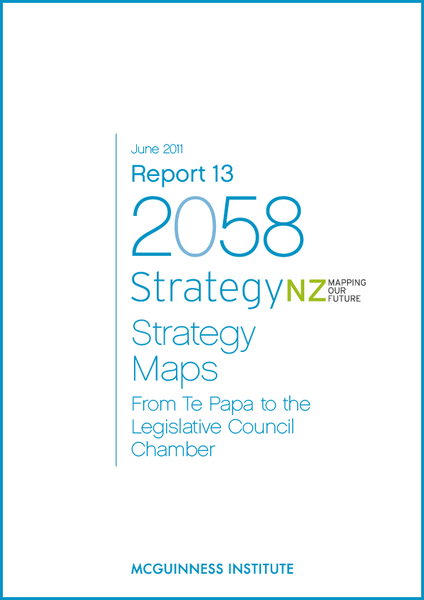 Image of 2011 Report 13 - StrategyNZ: Mapping our Future Strategy Maps