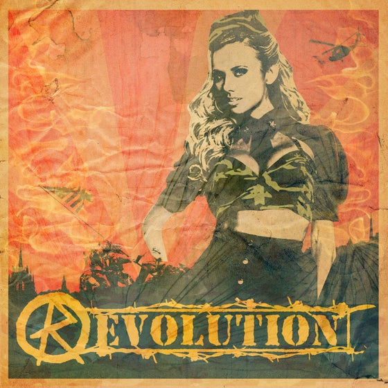 "Image of ""Revolution"" T-Shirt (from the Grind Album)"