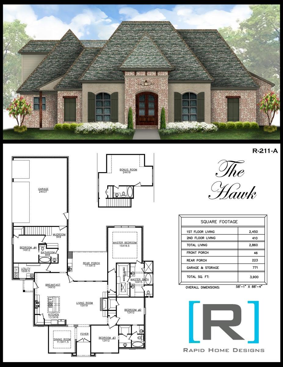 The Hawk 2860 Rapid Home Designs