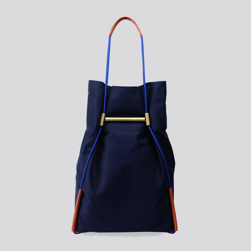 Image of Lasso - Shumai Small Tote Navy Blue