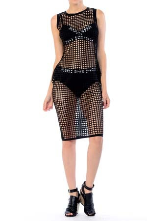Image of Cage Dress Lush