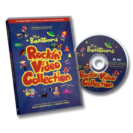 Image of DVD: The Bazillions Rockin' Video Collection
