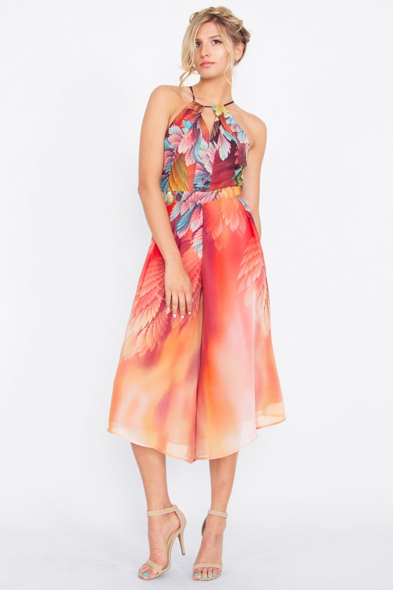 Image of BIRDS OF A FEATHER JUMPSUIT