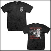 "Image of LYRIC POLICE ""ZOMBIE COP"" SHIRT"