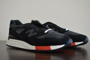"Image of Ronnie Fieg x New Balance 998 Kithstrike ""Bred"""