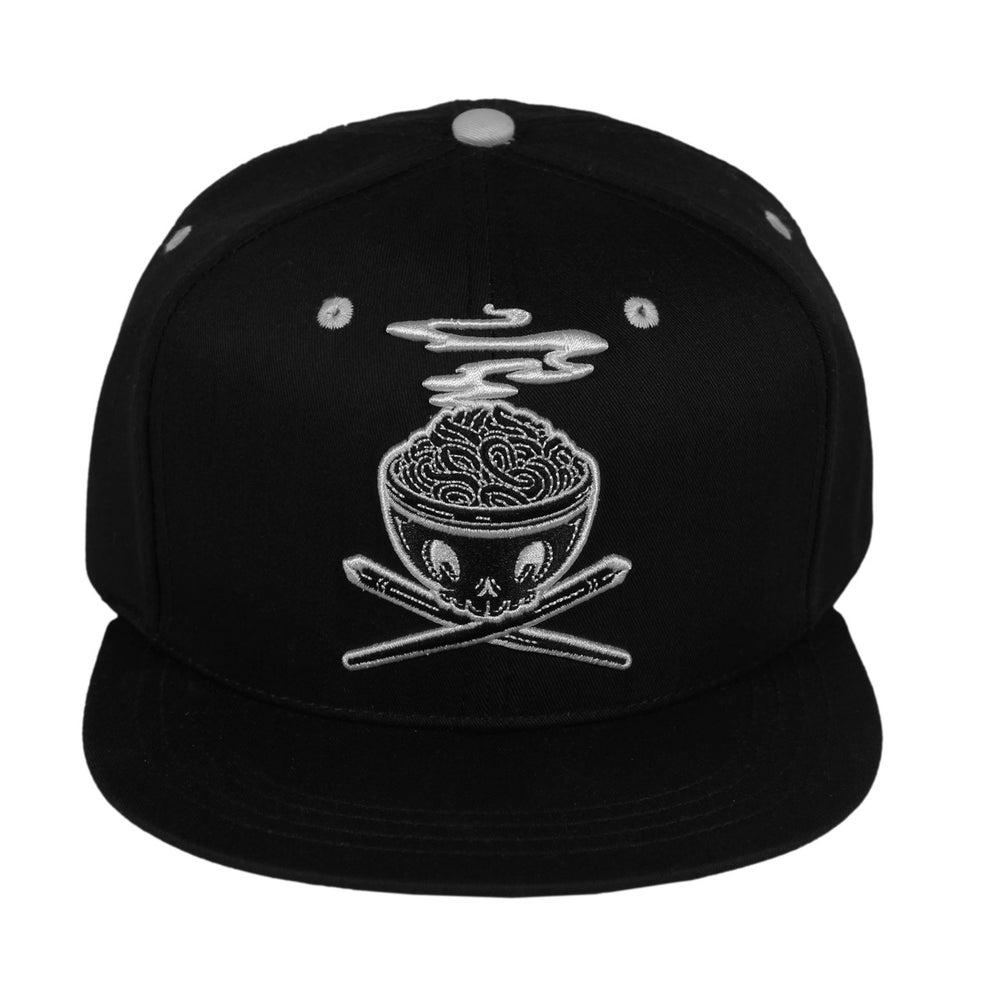 Image of Bowl N' Cross Snapback Cap (Black)