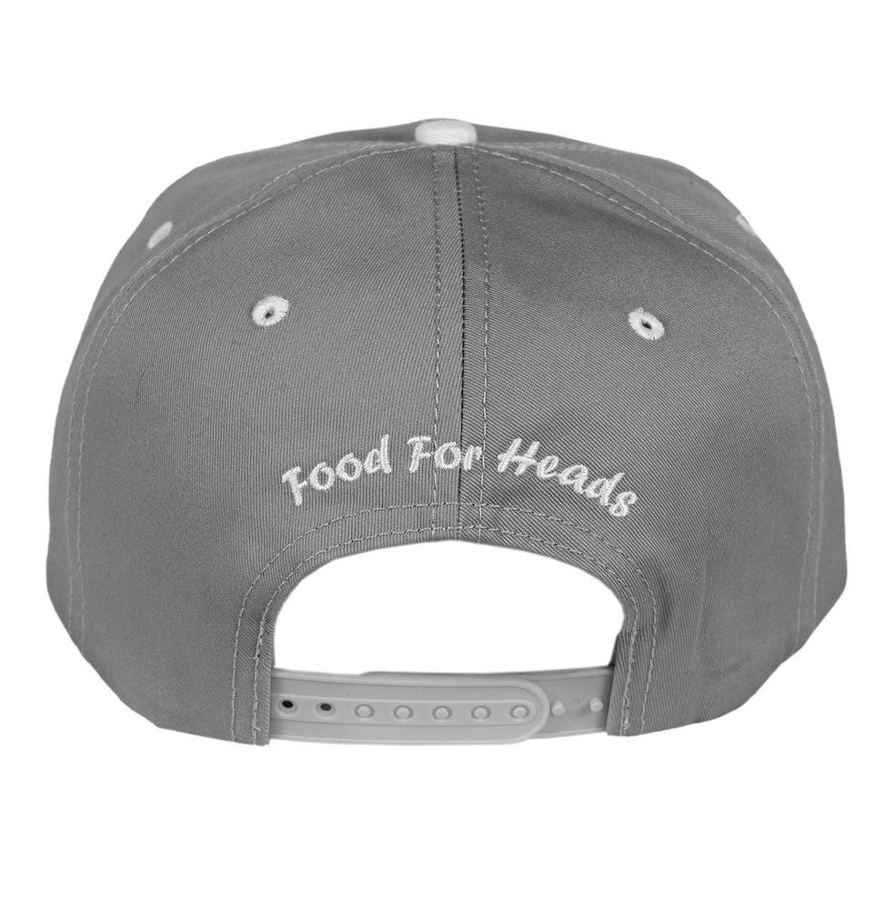 Image of Bowl N' Cross Snapback Cap (Grey)