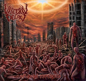 """Image of VISCERAL DECAY """"IMPLOSION PSYCHOSIS"""" CD"""