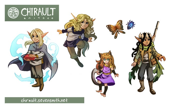 Image of Chirault sticker sheet 1