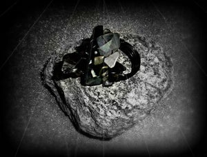 Image of Lunation Rock Crystal Ring