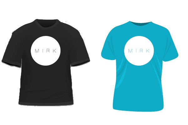Image of Mirk Logo T-Shirt (RUN Album)