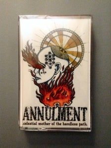 """Image of Annulment - """"Celestial Mother of the Handless Path"""" Blasphemour 2015 Press (Orange)"""