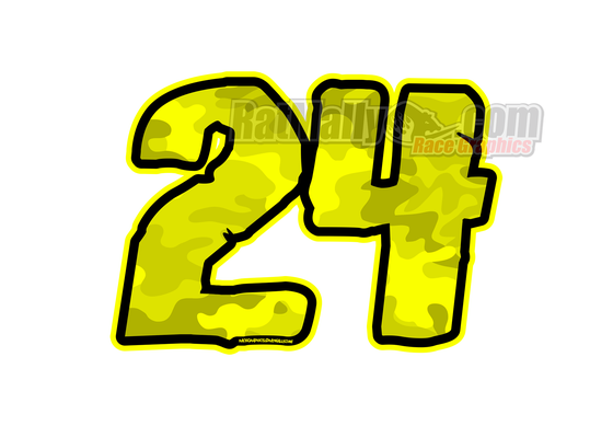 Image of Camo-Flo Edition Race Numbers