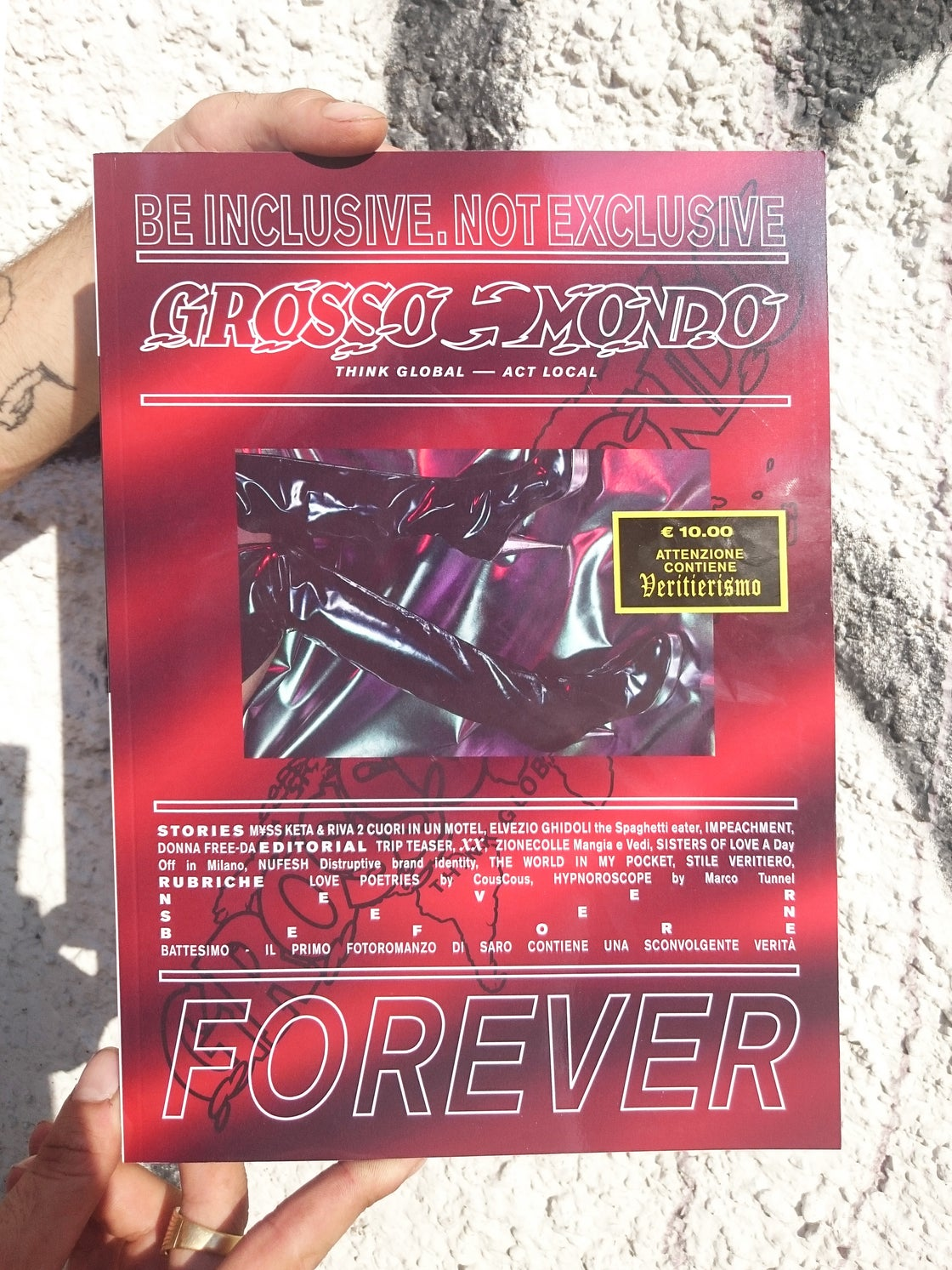 Image of GROSSO MONDO #0 (SOLD OUT)