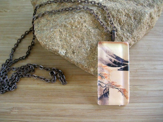 Image of Glass Pendant Necklace
