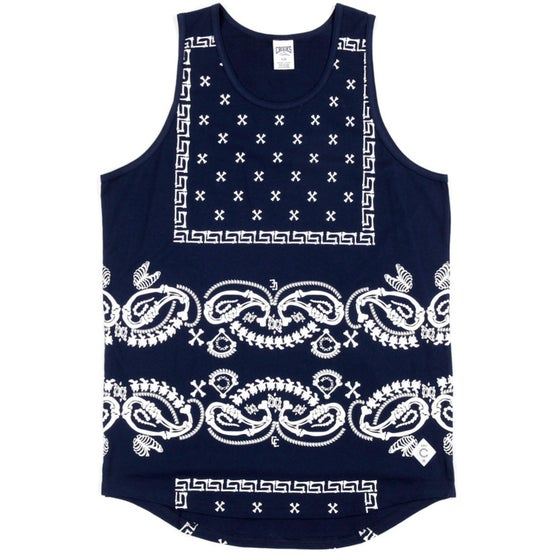 Image of Crooks & Castle Departed-Men's Knit tank Top