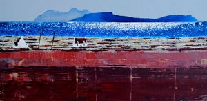Image of These are the colours of my world - Rhum and Eigg Scotland