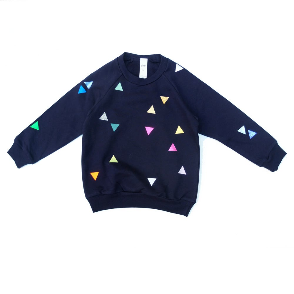 Image of Sweater Triangle navy
