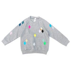 Image of Sweater Diamond grey
