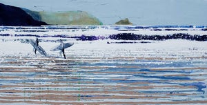 Image of Fistral Beach Newquay - Freedom across oceans and skies ....