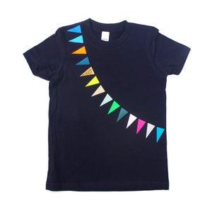 Image of T-Shirt Garland navy