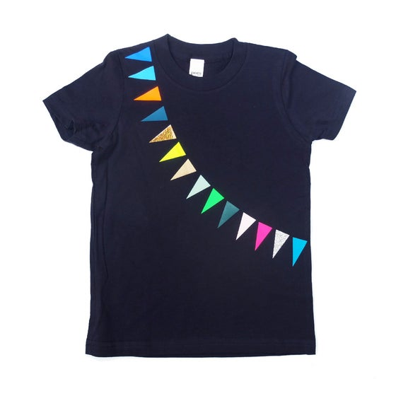 Image of T-Shirt Garland navy