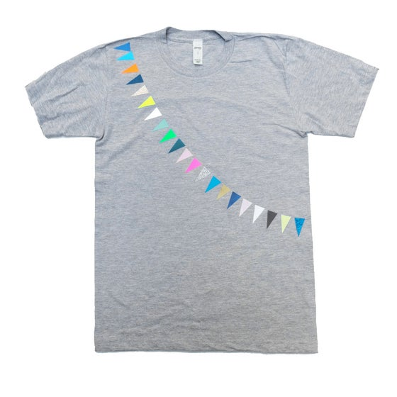 Image of T-Shirts Garland for Adults
